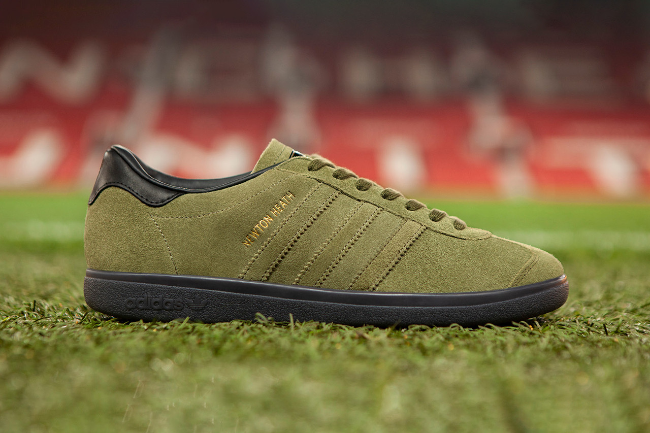"Adidas Originals And Manchester United Release Celebratory ""Newton Heath"" Sneaker"