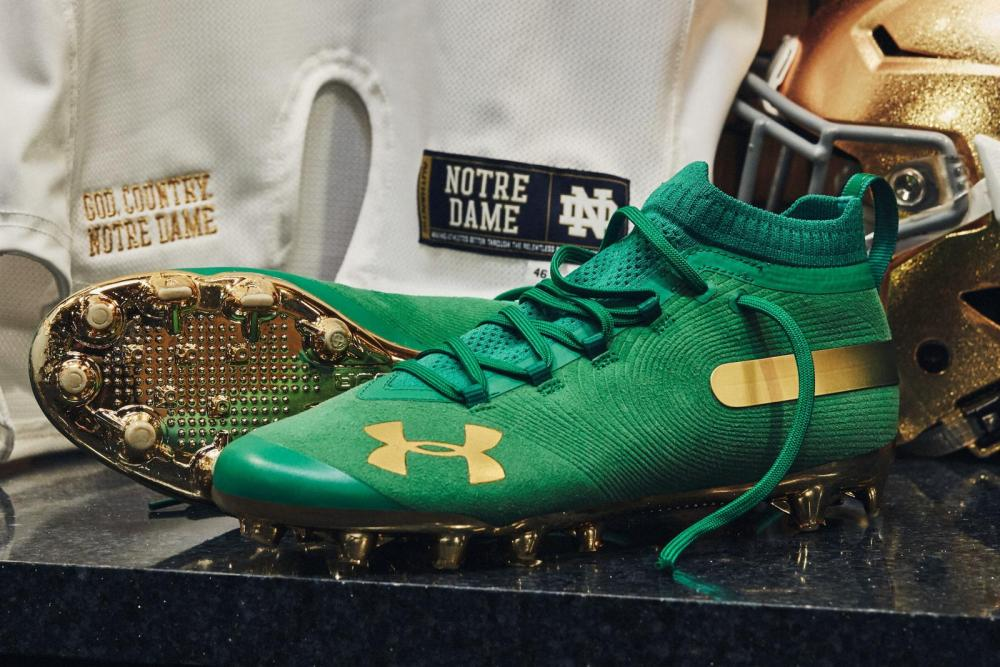 Notre Dame Will Wear 'Rush 4 Gold' Uniforms For Playoff Game