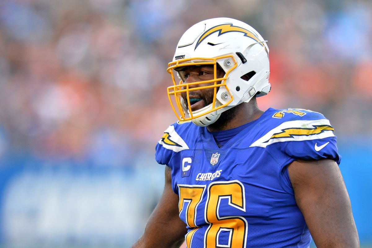 Los Angeles Chargers OL Russell Okung Says He Attended 'Wakanda Tech' On Sunday Night Football