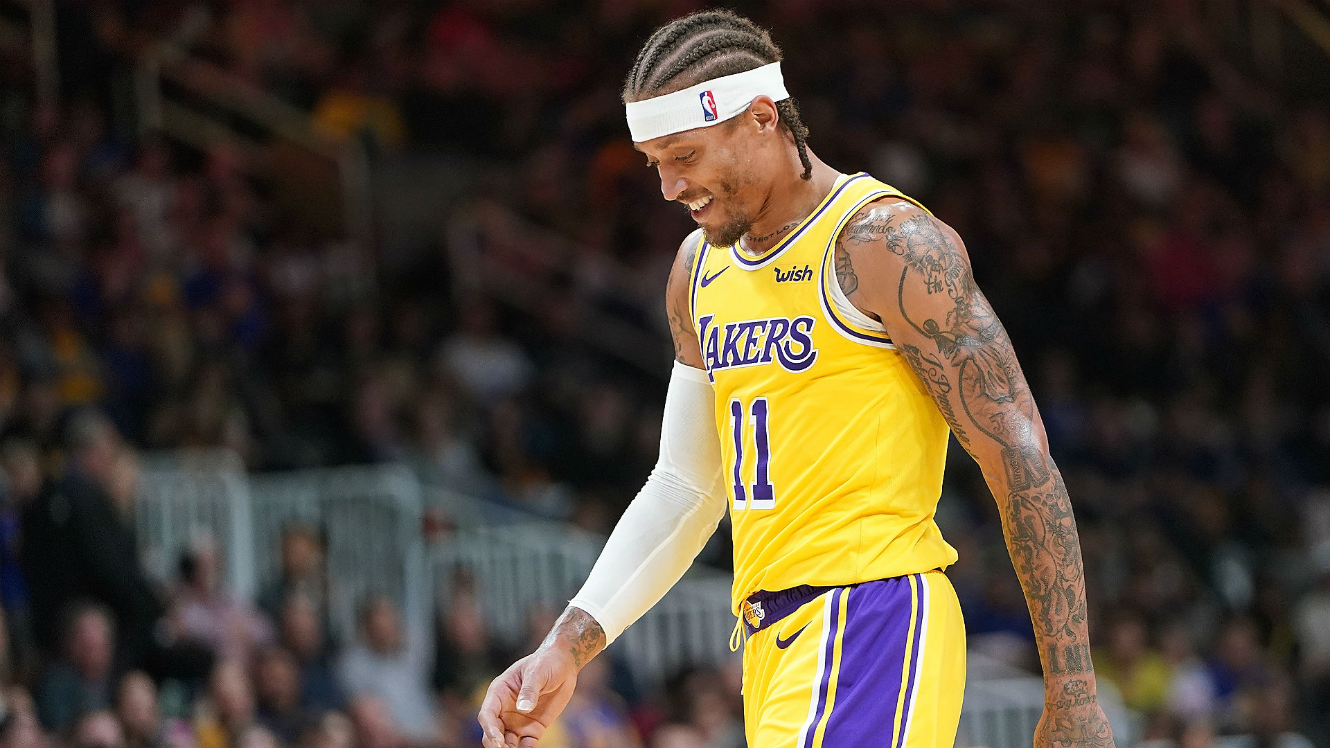 Michael Beasley Checks Into Game With Wrong Color Shorts