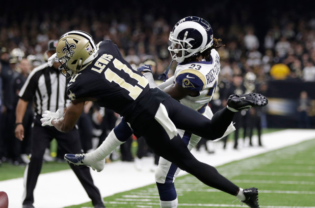 Twitter Goes Ham Over Missed Pass Interference Call Late In Rams-Saints Game