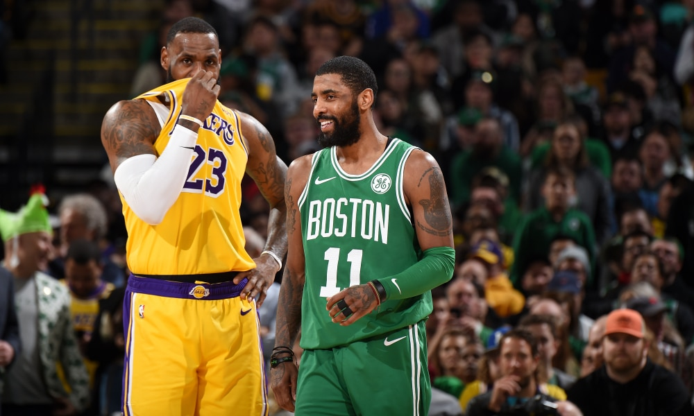 Kyrie Irving Is Reportedly Interested In Signing With Lakers In July