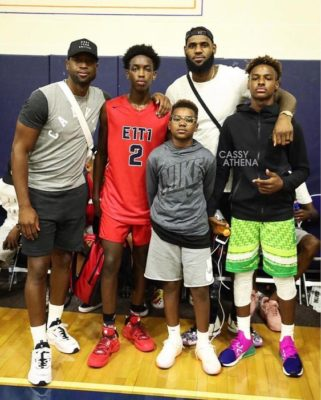 The Wade-James Legendary Timeline: From Dwyane & LeBron to Zaire & Bronny