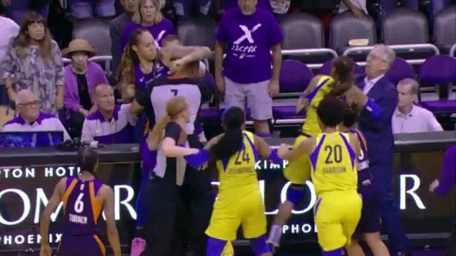 Wild WNBA Fight Involves Brittney Griner Throwing Punches