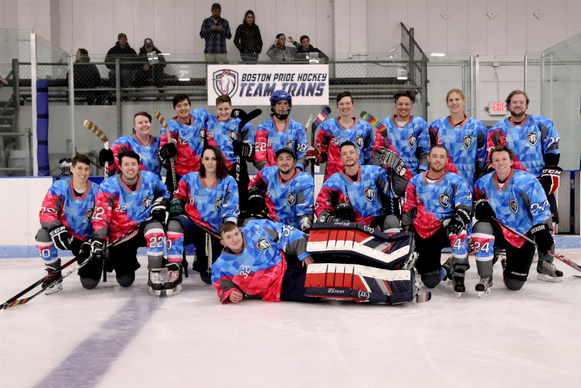 Boston Hosts First Transgender Hockey Team