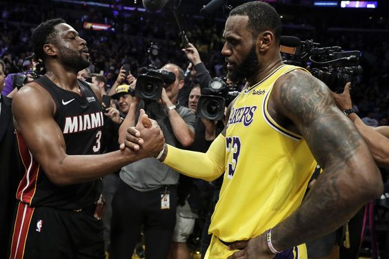 Dwyane Wade Reacts To LeBron James' Haters