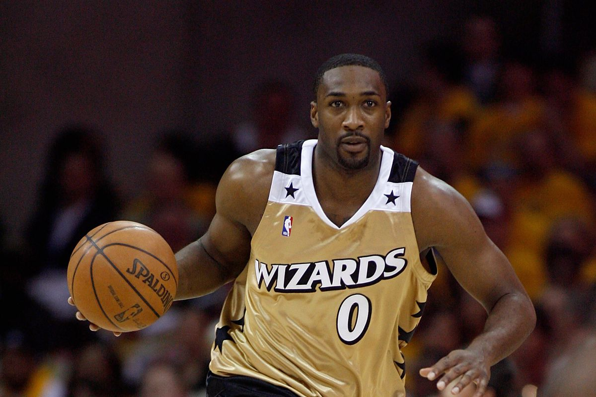 Gilbert Arenas Banned From Fair For Cleaning Out Hoops Game