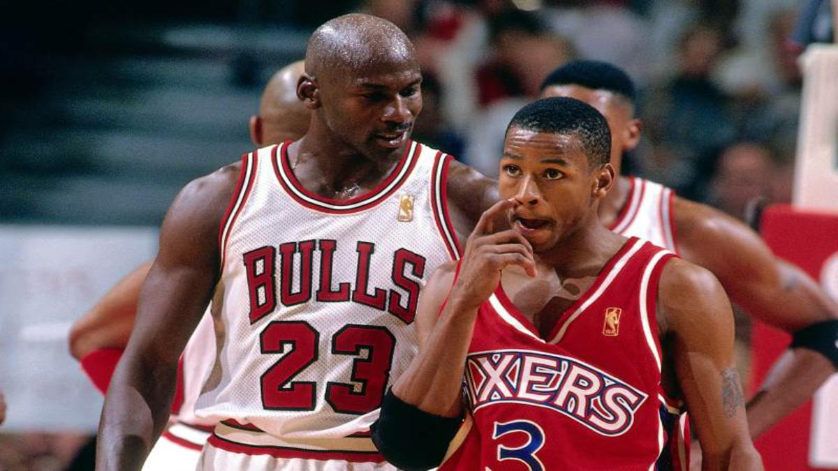 Allen Iverson Shares A Story On How Cool Michael Jordan Is