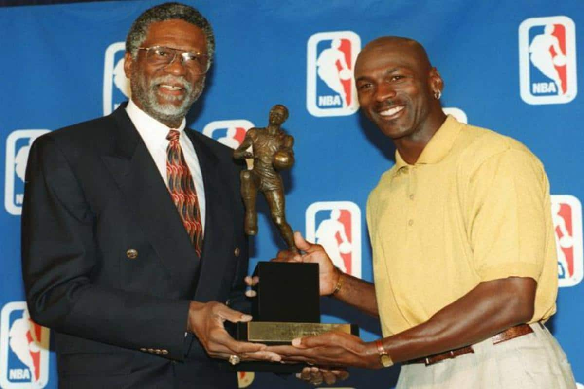 Bill Russell Claims Michael Jordan Played In Worse Era Than Him
