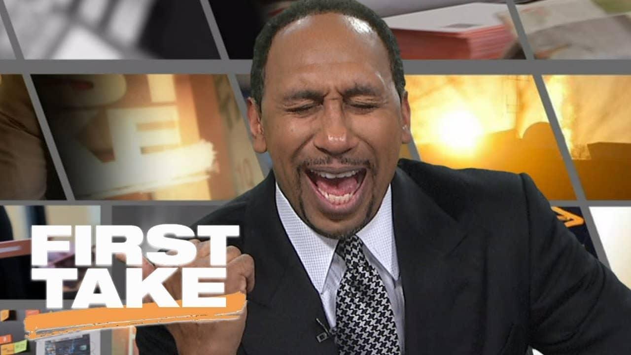 Stephen A. Smith Had A Personal Laughing Fest At Dallas Cowboys