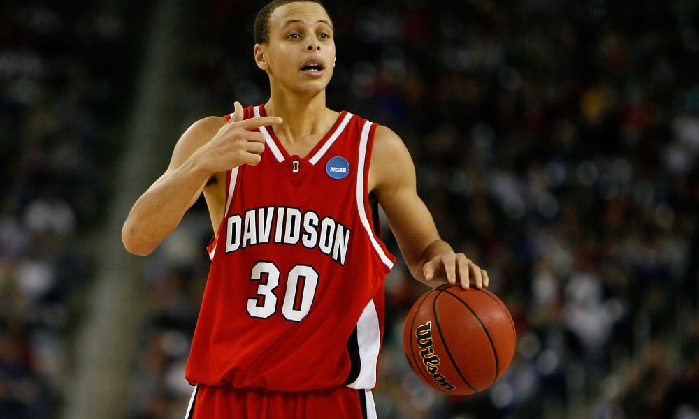 Stephen Curry Filmed A Cheesy Television Show At Davidson College