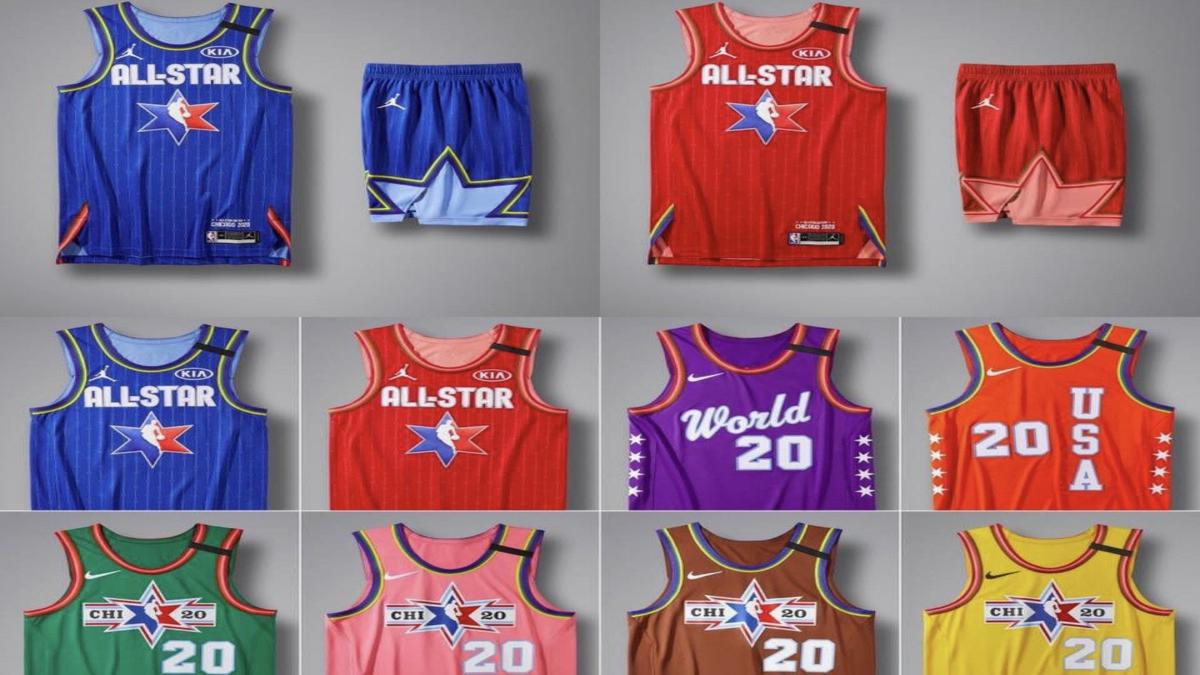 2020 NBA All-Star Game Jerseys Have Been Officially Leaked