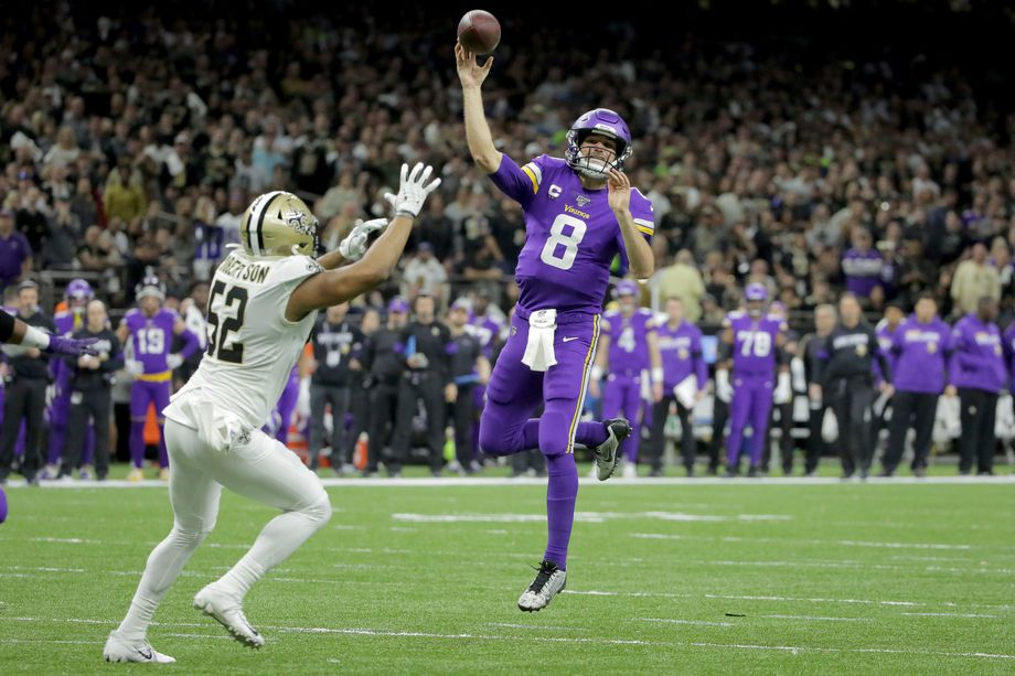 Vikings and Titans NFL Wild Card Weekend Upsets Of Brady And Brees Show Dangers of Betting Chalk