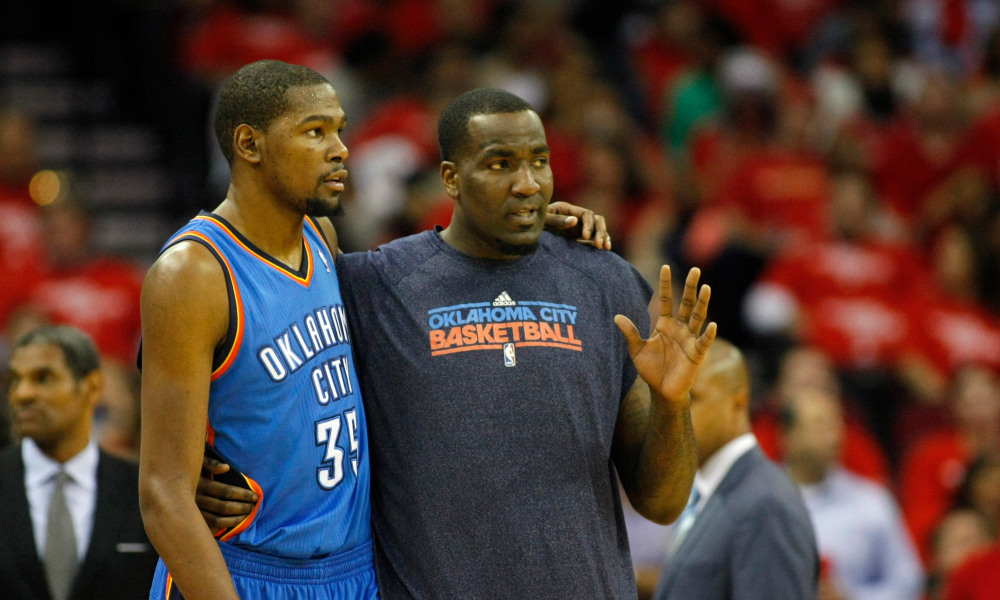 Kendrick Perkins Apologizes To Kevin Durant Following Kobe's Death