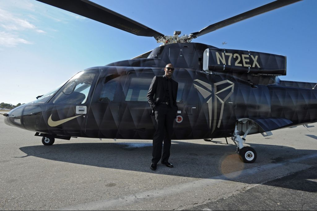 Helicopter Carrying Kobe Made Climbing Turn Before Rapid Dive