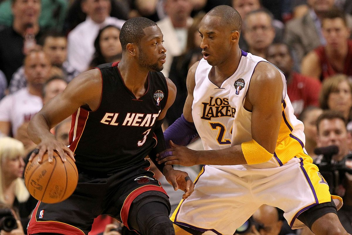 Dwyane Wade Shares Story Of Playing Against Kobe For First Time