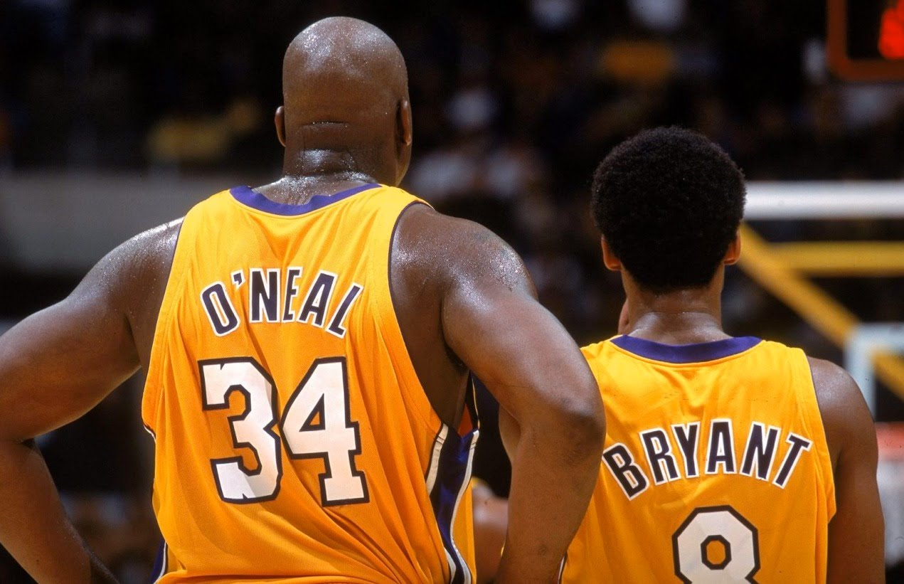 Shaquille O'Neal Once Wore Kobe Bryant's Number 8 Jersey