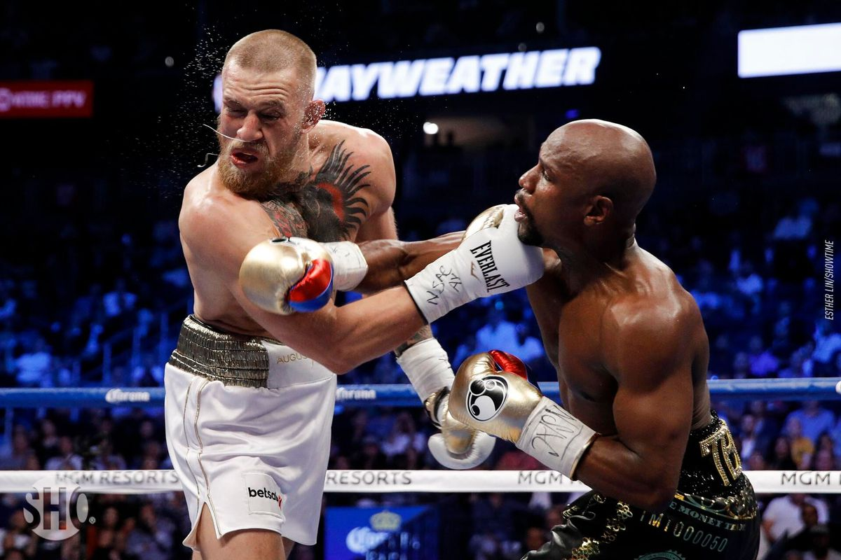 Floyd Mayweather Challenges Conor McGregor And Khabib On Same Day