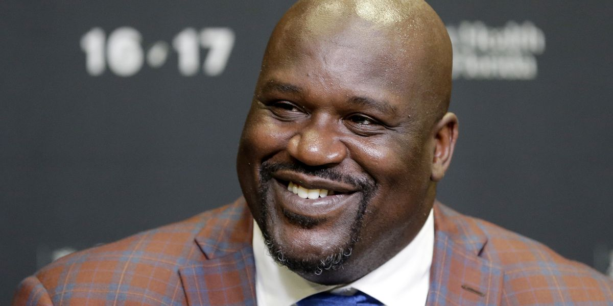 Shaquille O'Neal Interviewed Baby On Live Television