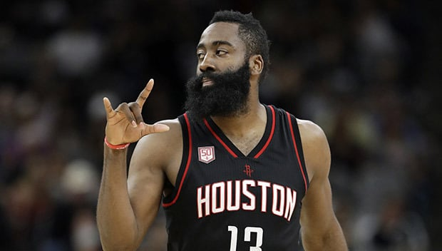 James Harden's Jersey Hangs In Rafters At A Strip Club