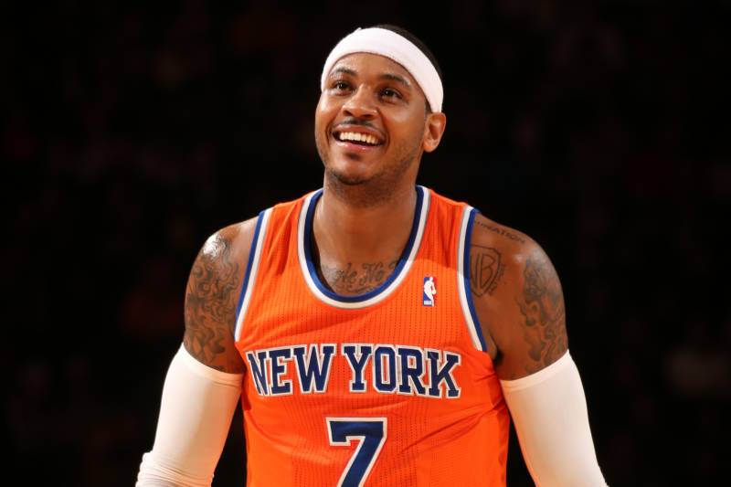 The New York Knicks Reportedly Want To Bring Carmelo Anthony Back & Trade For Chris Paul