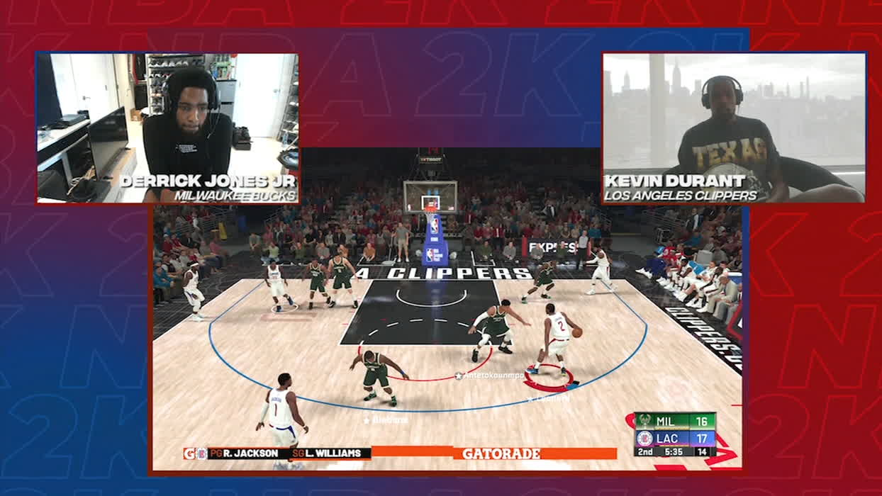 Kevin Durant Losing In A Game Of NBA 2K20 Has Resulted In Gambling Scandal