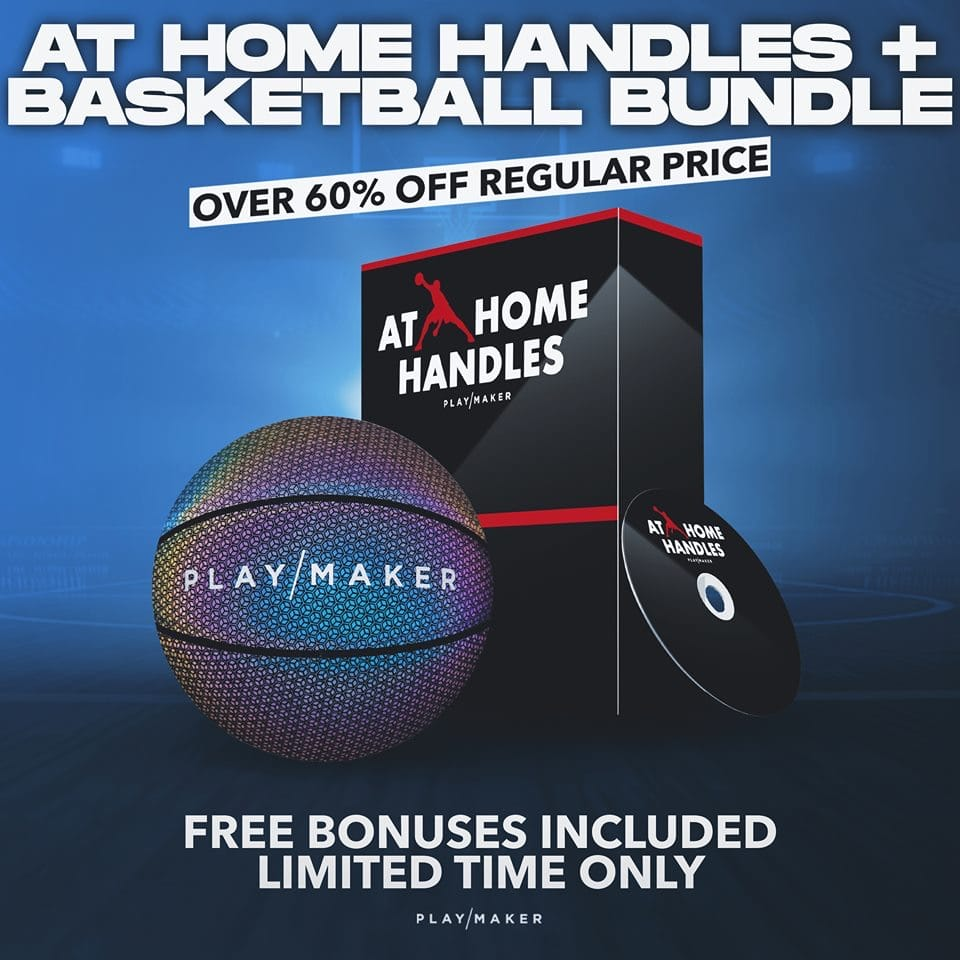 At home handles bundle with basketball