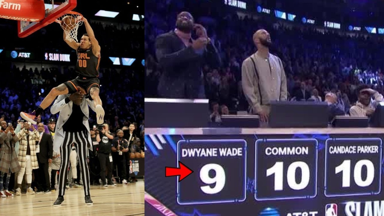 Dwyane Wade Explains His 9-Score In The NBA Dunk Contest