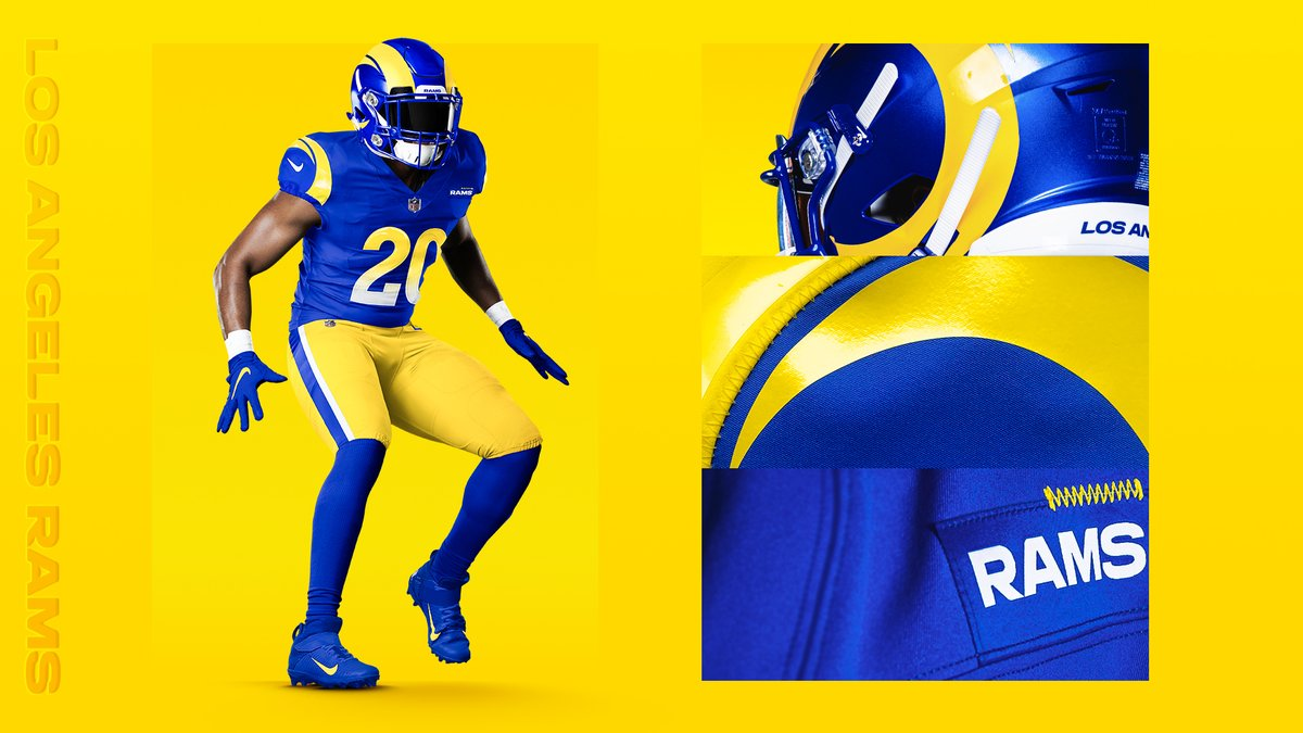 L.A. Rams Unveil Brand New Uniforms