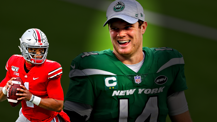 After missing out on the Trevor Lawrence sweepstakes, should the Jets Keep Darnold or draft Fields?