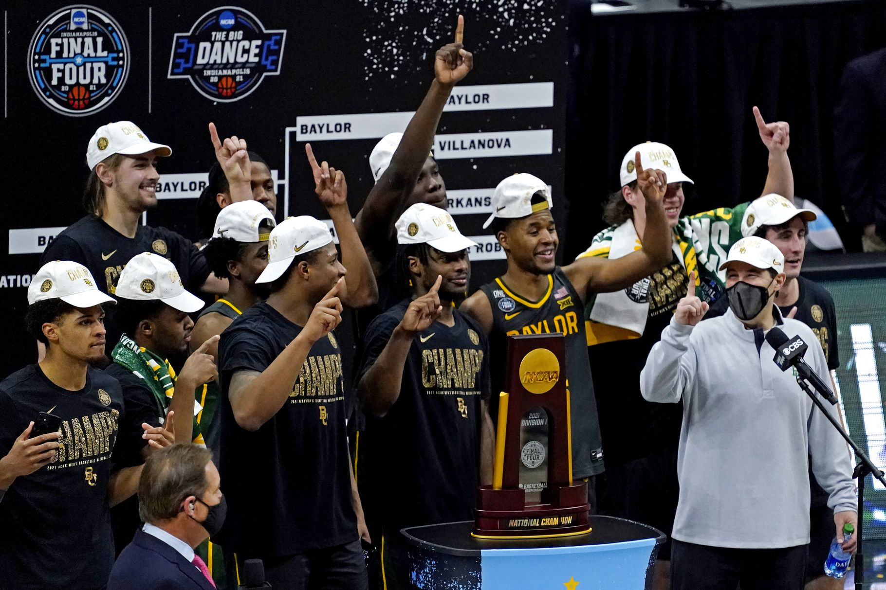 Baylor Dominates Gonzaga to Capture their First Ever Title